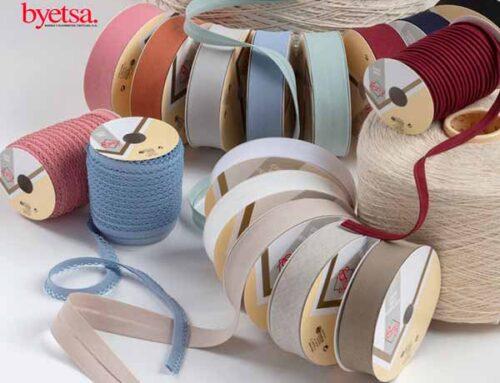 Nuevo catálogo de cinta al bies estampada de Byetsa